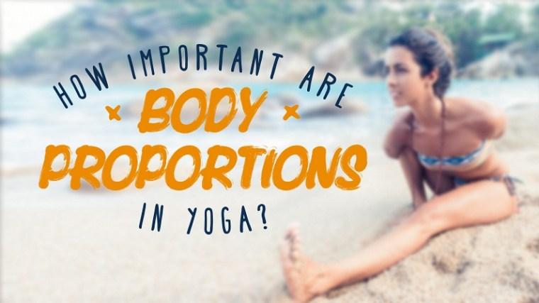 身形比例对瑜伽练习的影响